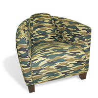 Fauteuil Camouflage